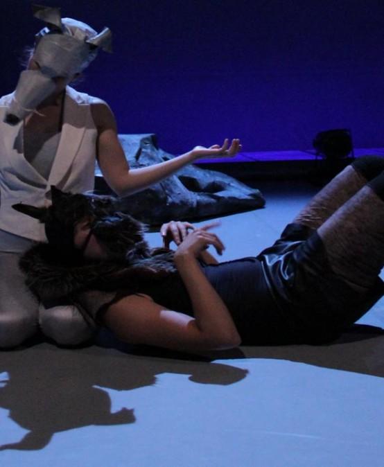 El coloquio de los perros, de Cre.Art Project i Amanece Teatro (Madrid)