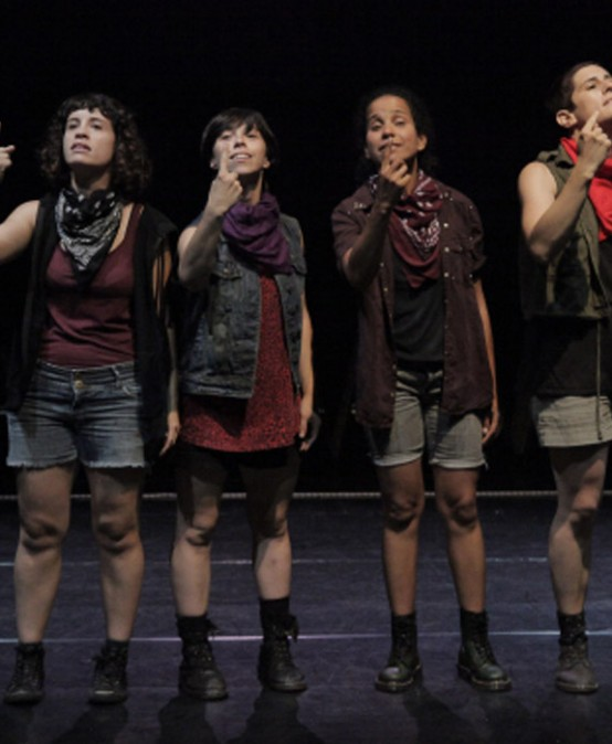 TEATRE ESCENA CONTEMPORÀNIA: Les solidàries d'Atirohecho