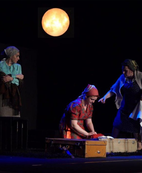 La lluna cega (Soliloquio de grillos) de Lletraferits & Comediants (Gandia)