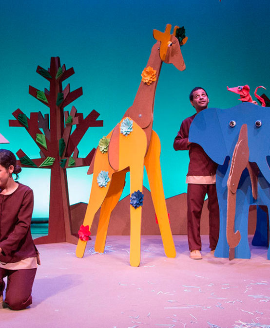 Martina i el bosc de paper de l'Horta Teatre (País Valencià)