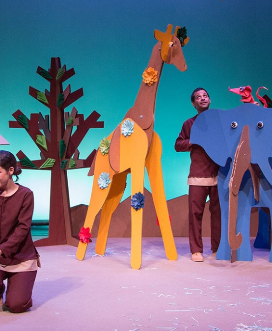 Martina i el bosc de paper de L'Horta Teatre