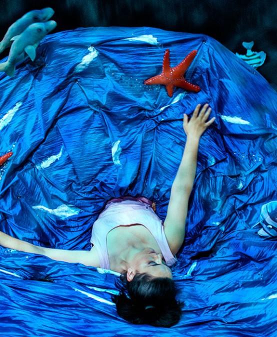 CICLE INFANTS A ESCENA  Volcà blau,  de Begoña Tena (València)