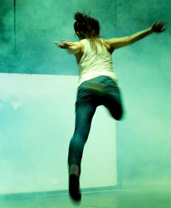 Nadadora de Cia. Enámbar Danza (Castella-la Manxa)