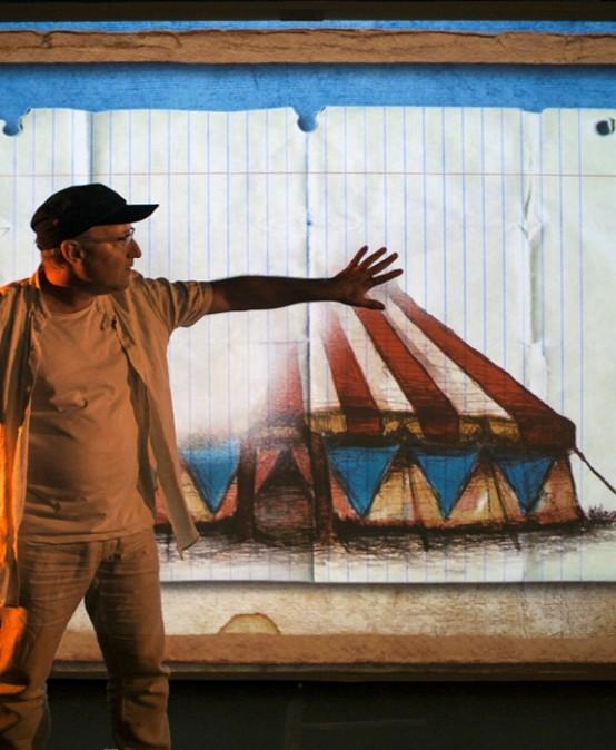 Screen Man de Cia. El Teatre de l'Home Dibuixat (País Valencià)