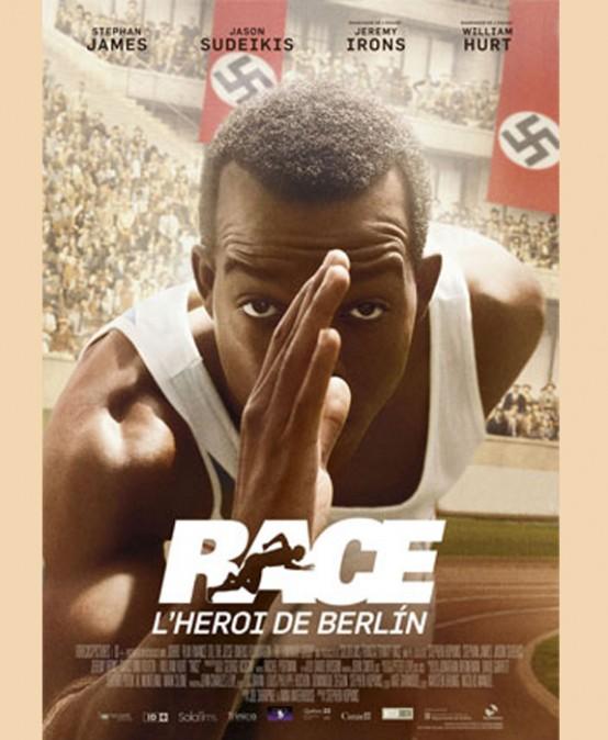 Cinema en anglés i en valencià RACE, l'heroi de Berlín