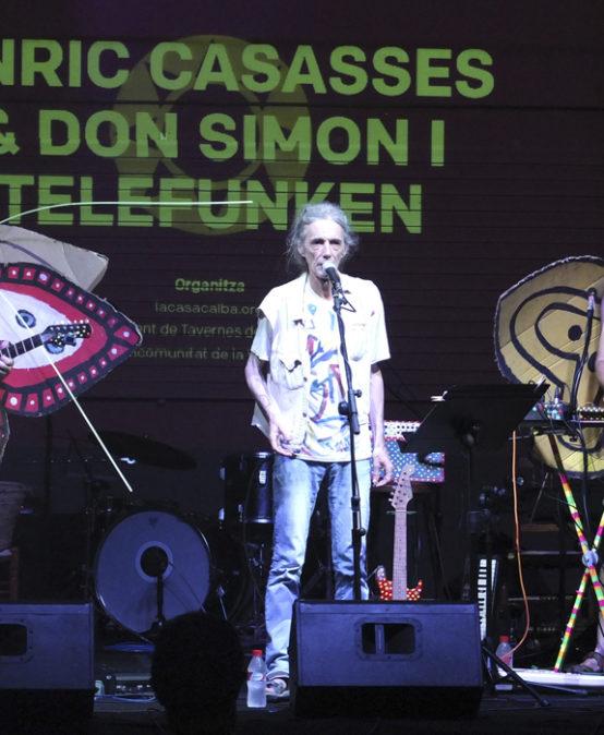 POESIA MUSICADA: Orbiten,  Enric Casasses i Don Simon & Telefunken (Catalunya)