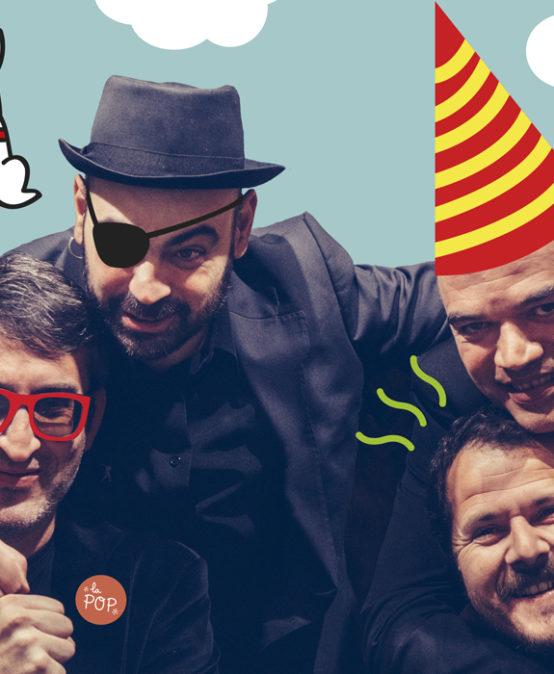 RRRR! Festival d'Art i Reciclatge | MÚSICA I TEATRE: Els Garcia & Cia. La família s'amplia, de La POP, Petita Orquestra Peiotaire (País Valencià)
