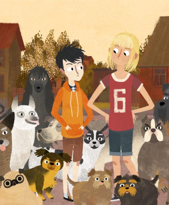 CINEMA IN VALENCIAN: Jacob, Mimi i els gossos del barri