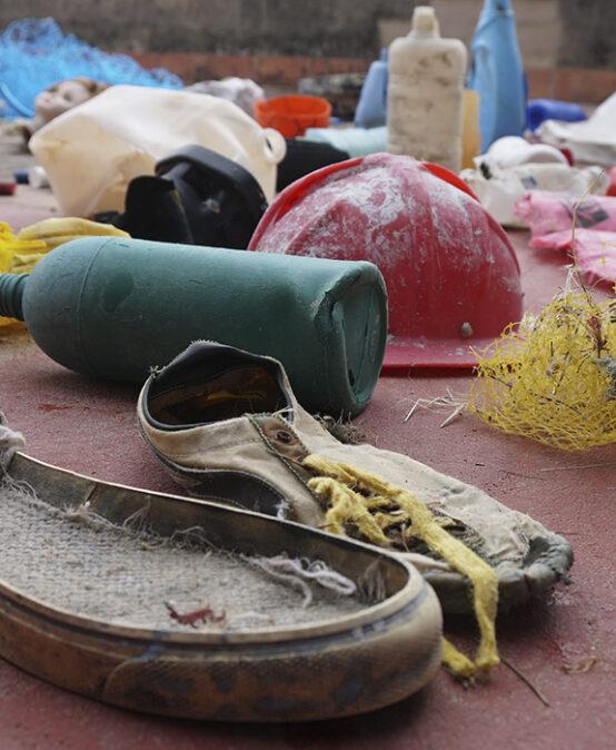 RRRR Festival d'Art i Reciclatge: Taller d'art Restes del mar, a càrrec de Factoria Artis3 (La Safor)
