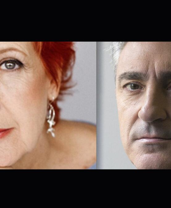 XARRADA: Dona la veu, amb Rosa Maria Calaf i Jon Sistiaga (Barcelona- País Basc)