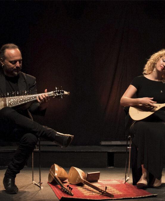 HOSTES FOLK: Eléonore Fourniau & Efrén López presenten Cants d'Anatòlia