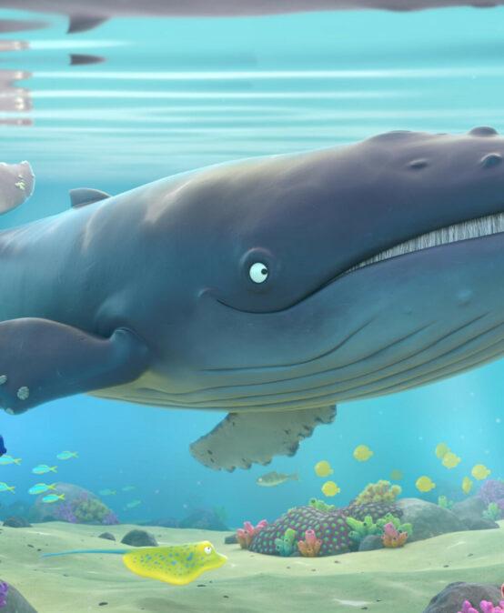 CINE EN VALENCIANO: 'El cargol i la balena'. Dirigida por M. Lang y D. Snaddon (R. Unit)